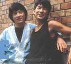 Jackie Chan and Yuen Biao