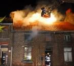 Incendie de maison a Flénu le 19 novembre