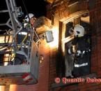 Incendie à Quaregnon la nuit du 22 avril 2009 2