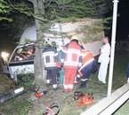 Un camion rate son virage Brûly et Couvin , le 17 avril 2007