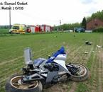 Accident à Mettet le 10-05-09