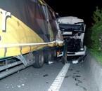 Accident E411 à Houyet , le 17 avril 2007