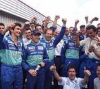 Brésil 2001, 3éme place de Heidfeld