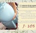 Mon bidou a 25Semaine de grossesse