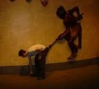 - Moi à Washington, dans un musée. -