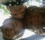 Lucie moi et Laura