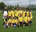 L'équipe à Mèze 2009.