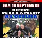 Samedi 19 Sept La NEW TEAM débarque en LIVE au TRIANON Club