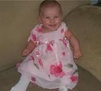 le sourire de ma belle princesse Océanne