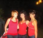 De gauche à droite : Mélissa , Moi , Mylène .