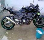 la kawa a steven (Kawasaki Z750) bientot a bibi xd
