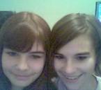 me and my sister ke j'<3 de tous mon coeur