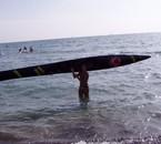 Inauguration surf ski