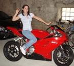 moi sur la moto a romain !!