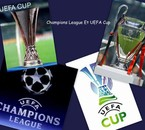 COUPE UEFA ET CHAMPION LIGUE
