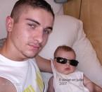 mon fils estevan et moi