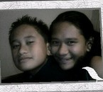 My brother with Sylavianna
