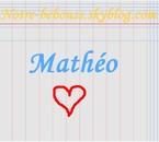 Mathéo <3