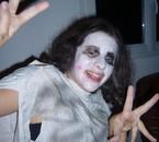 Estelle à Halloween