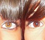 Mes yeux et ceux dma couz pref <3