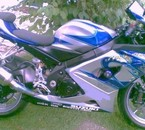la moto de ma cherie Isa