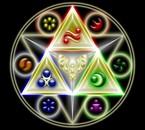 Triforce et éléments (ocarina of time)