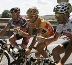 Le podium de la Vuelta 2009