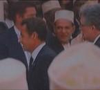 Sarkozy. Mosquée de Paris