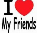 a sa c vré I♥ my friends touche pa s.........e