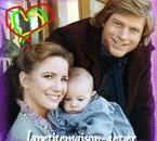 Laura et sa petite famille : Rose et Almanzo