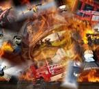 Montage Pompiers