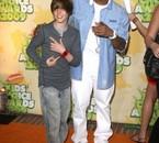 Justin avec Usher