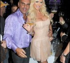Christian Audigier & victoria silvstedt