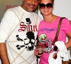 Christian Audigier & Britney Spears