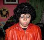 Moi, déguisé en Michael dans Thriller xD