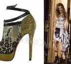 Christian Louboutin Bridget Strass Shoes