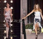 John Galliano for Christian Dior Newspaper Dress