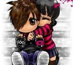 deux petit amoureux  x3