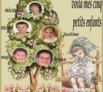mes 5 petits enfants