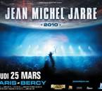 Jarre en tournée en France en mars 2010!