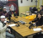Tydger et Faifa d'la 40N Street en mode radio avec des acos