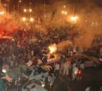 voilla ma ville mostaganem, au moment d'algérie gagné egypte