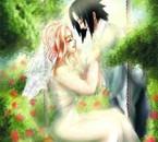 Sasuke et Sakura se marient  !!!!!!!  trop beau !!!!!!!