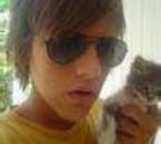 santi et un peti chat