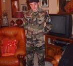 mon bébé en militaire