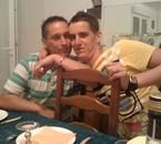Julien et son chéri Bastien