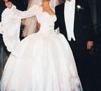 mariage de celine en 1995