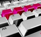 les plus belles lettres du clavier