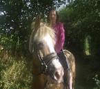 ma fille a cheval