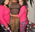 Lil Wayne, his mom (Cita) & his ex-wife (toya)